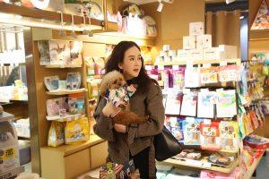 劉競浪漫冬日現身寵物店,既可愛萌趣又溫馨美好