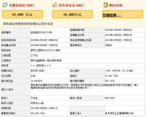 濱江集團20.36億元競得杭州市江干區一宗商業用地