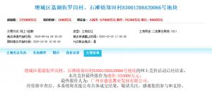合景泰富33.5億元摘得廣州市增城區一宗居住用地 樓麵價10373元/㎡_實木地板