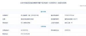 北京海淀118億元掛牌2宗預申請地塊 樓面均價6.7萬元/平_北部新古典家具推薦